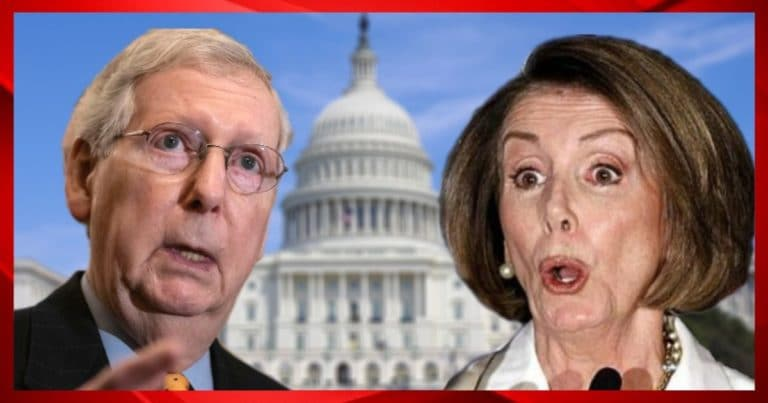 """After Pelosi Submits $3T Partisan Relief Bill – Mitch McConnell Fires Back, Calls It """"Dead On Arrival"""""""