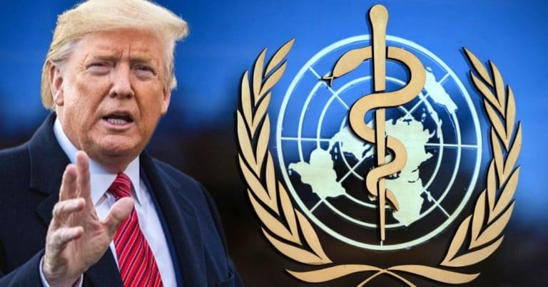 Trump Sends Heated Letter To The WHO – Donald Says He Might Make The U.S. Funding Freeze Permanent