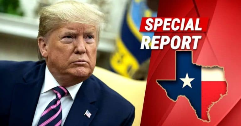 President Trump Lands In The Great State Of Texas, Jump-Starts Economy By Signing Four Texas-Sized Oil Permits