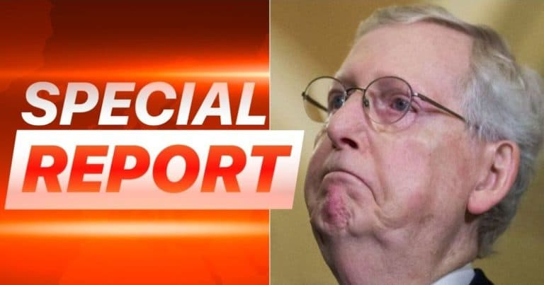 Mitch McConnell's Own Party Turns On Him – If Mitch Votes To Convict Trump, They Say He Could Lose GOP Support