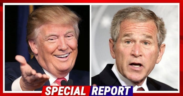 President Trump Just Beat George W. Bush – Donald Is Leaving The White House With A Higher Approval Rating Than W.