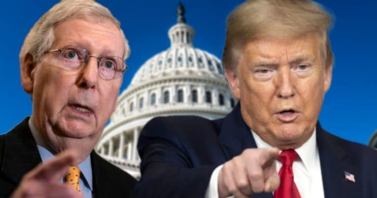 Donald Trump Goes After McConnell – Now He's Telling Voters Mitch Should Be Ousted