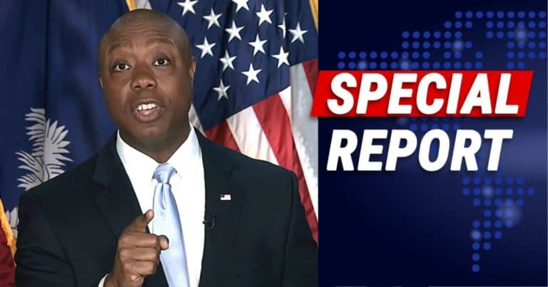 Tim Scott Just Broke Liberals Into Pieces – He Throws The Book At Joe Biden, Democrats And The Media