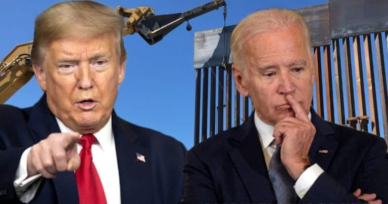 Weeks After Biden's Border Crisis Arrives – Donald Trump's Wall Might Get A Quick Restart