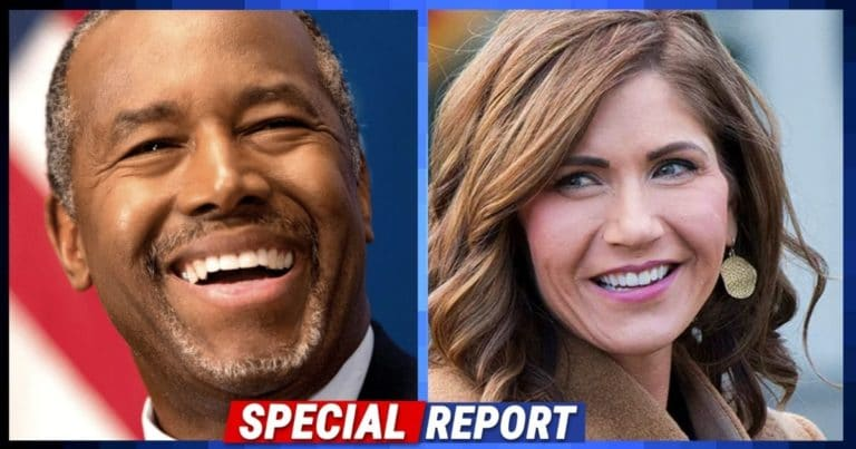 """Ben Carson And Kristi Noem Team Up Against Democrats – They Just Went After Biden's """"Anti-American Indoctrination"""""""