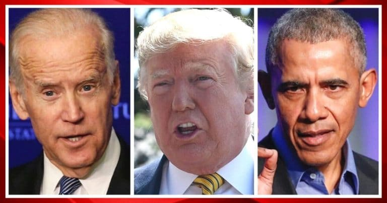 Biden Gets Beaten By Obama And Trump – The President's Approval Rating Tumbles To Its Record Bottom
